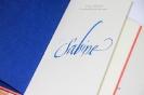 Kalligrafie-Workshop - Formen in Bewegung - Schmuckbuchstaben