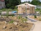 Bau des Pavillion in der Umweltstation Waldsassen